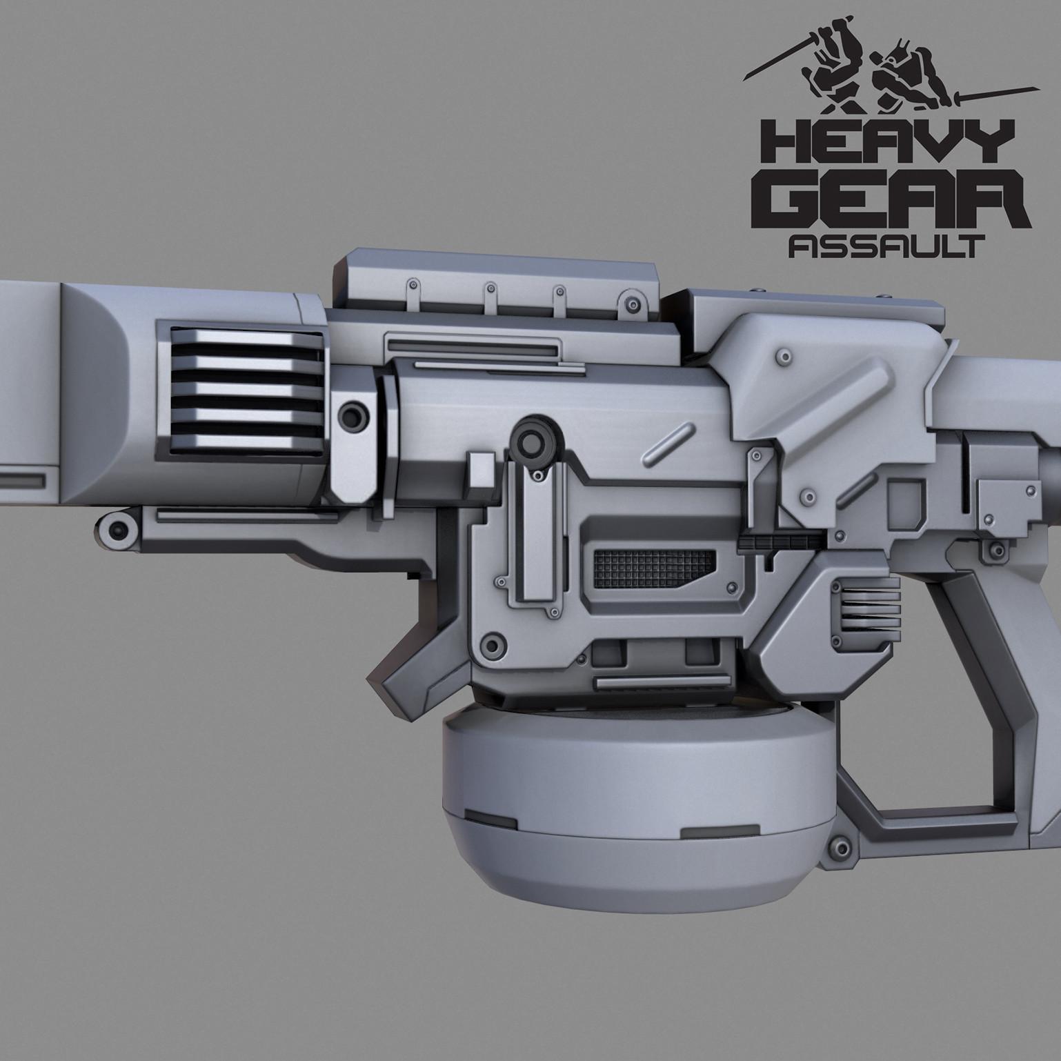 Heavy Laser Canon