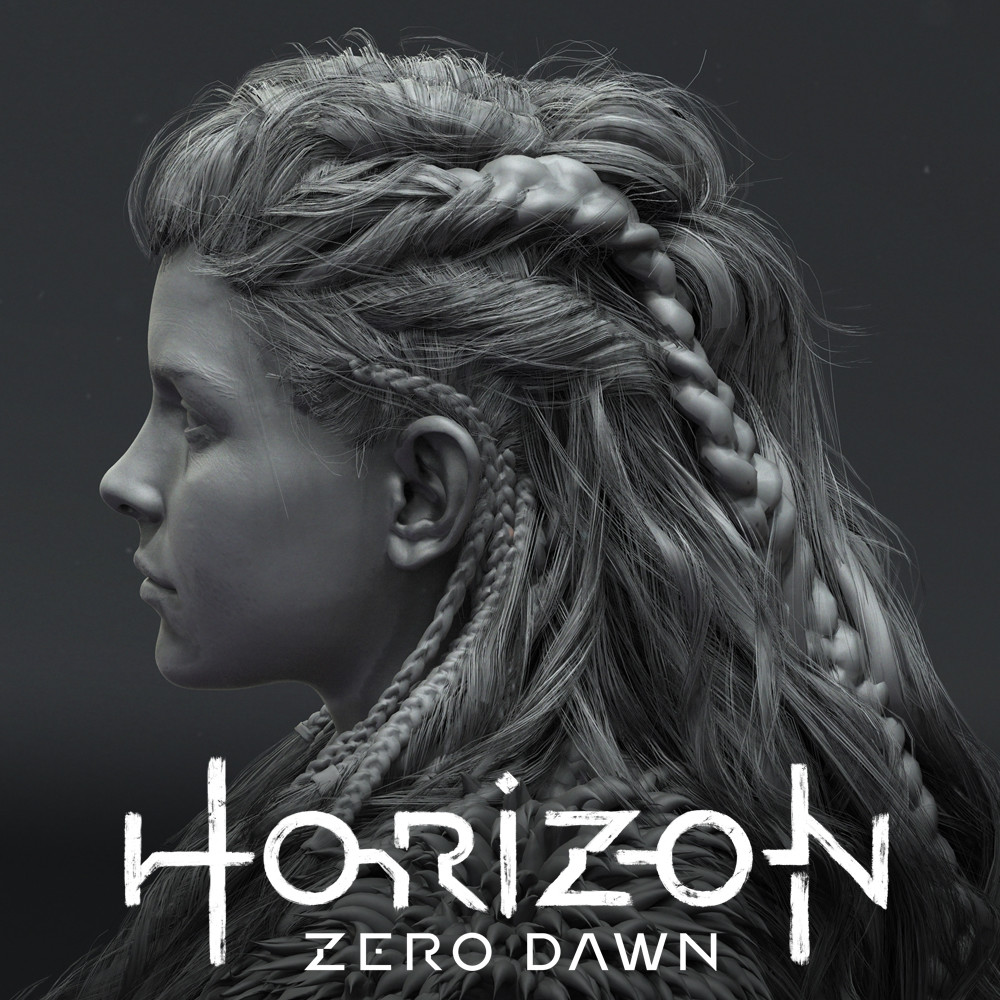 Artstation Horizon Zero Dawn Hair Johan Lithvall