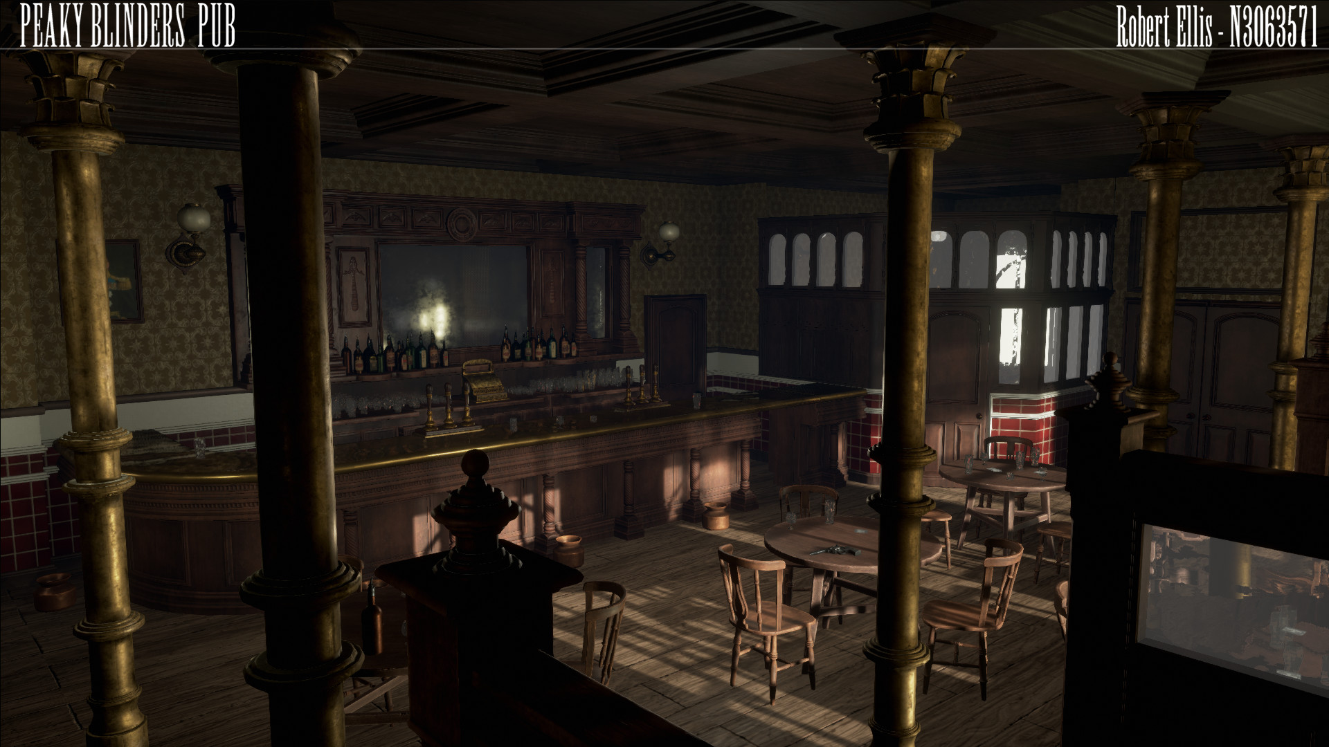 Artstation Peaky Blinders Pub Robert Ellis