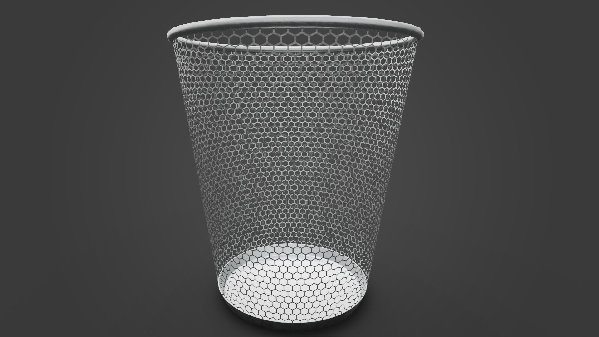 Quick modeling : trash can
