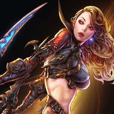 Woo kim illustration assassin crop