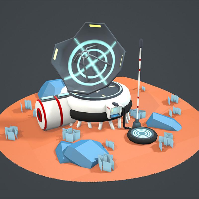 Astroneer Inspired Communication Module