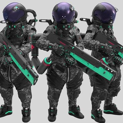 "SPACECREW [ YN9 ] ""camo"""