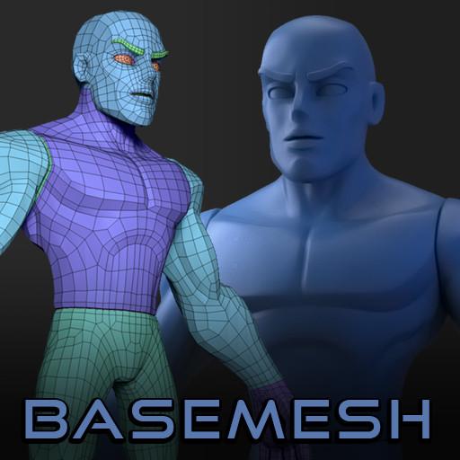 Infinidude Base Mesh