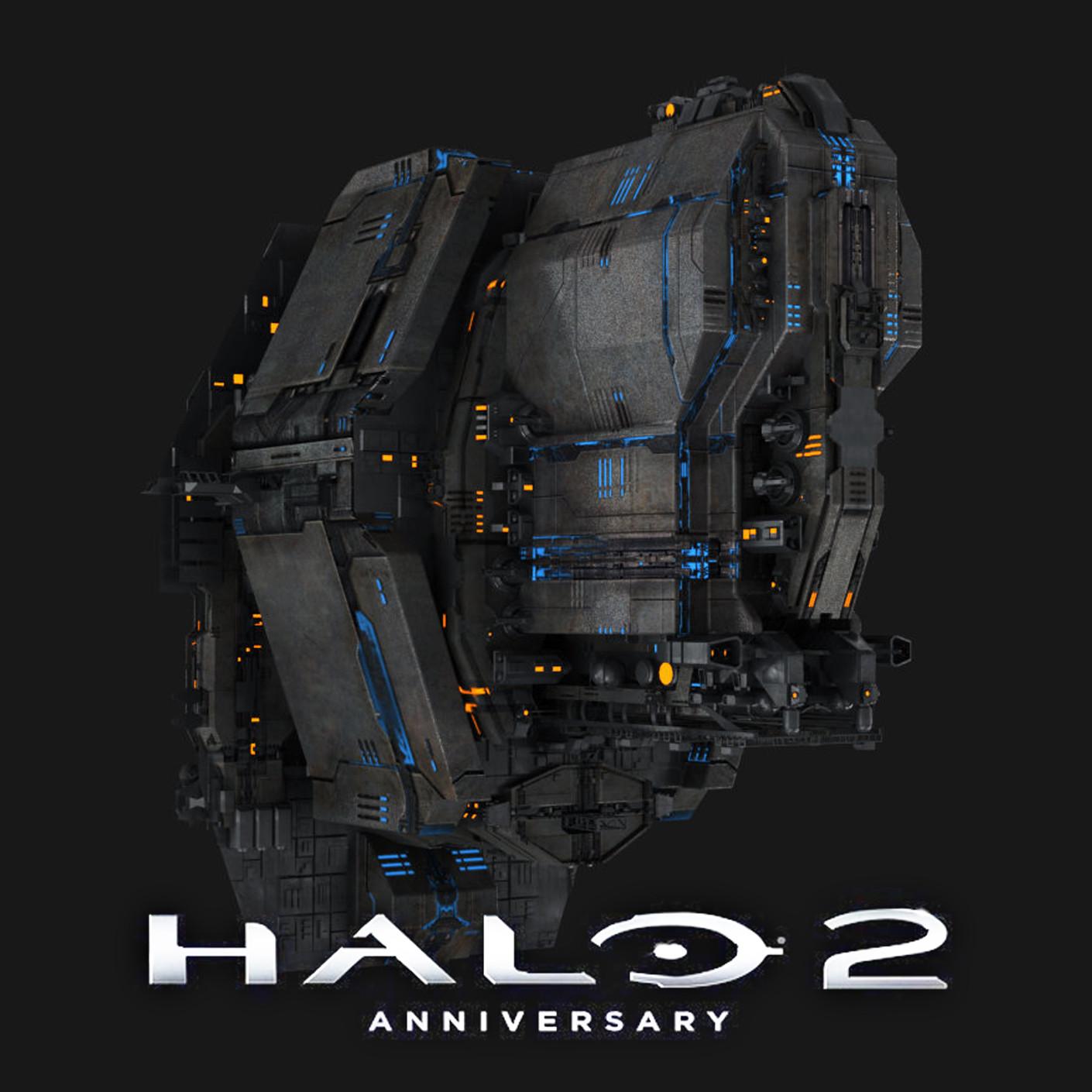 ArtStation - Halo 2 Anniversary: Spaceships, Andrew Averkin