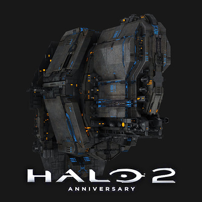 Andrew averkin halo 2 spaceships logo