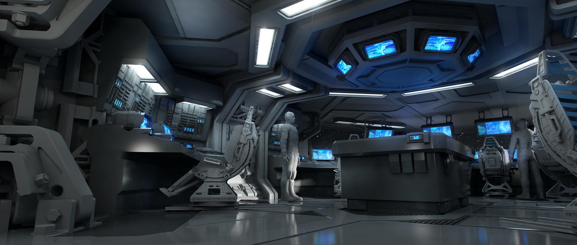 Artstation Alien Covenant Ship Interiors Steve Burg