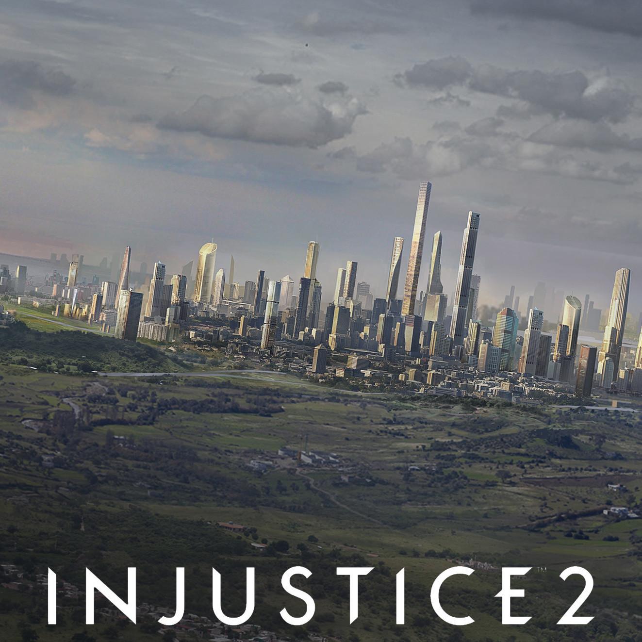 Injustice 2 // Brainiac attack