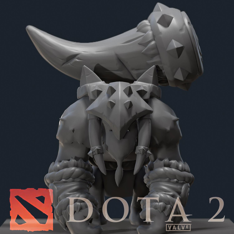 Tine of the Behemoth [DOTA 2 Cosmetics Item Set]