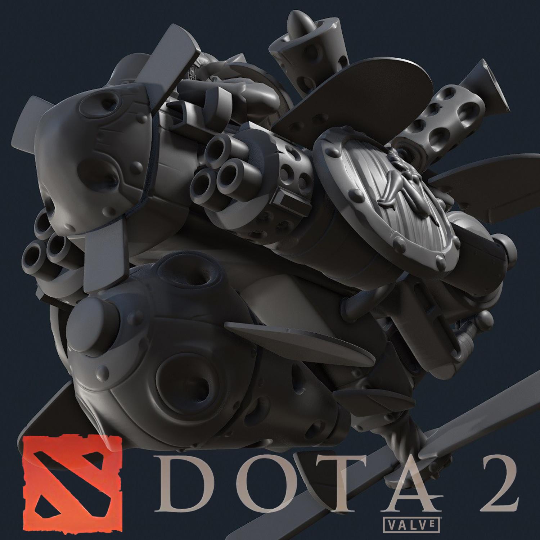 Airborne Assault Craft [DOTA 2 Cosmetics Item Set]