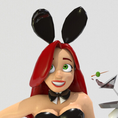Iker uriarte final pose bunnygirl pose bunnygirl