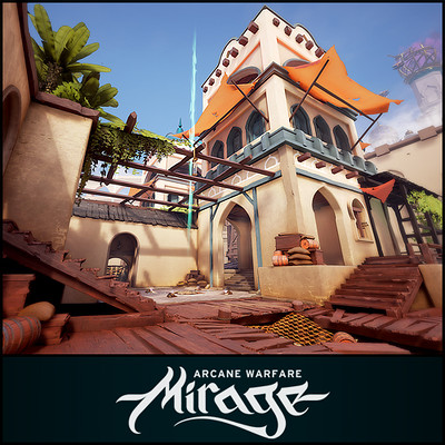 Mirage: Arcane Warfare - Bazaar Map