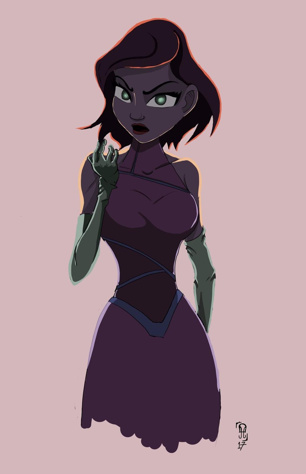 A Rather Keane Lady