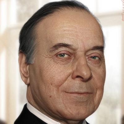 Oleg koreyba aliyev heydar cg 3d portrait by oleg koreyba 92