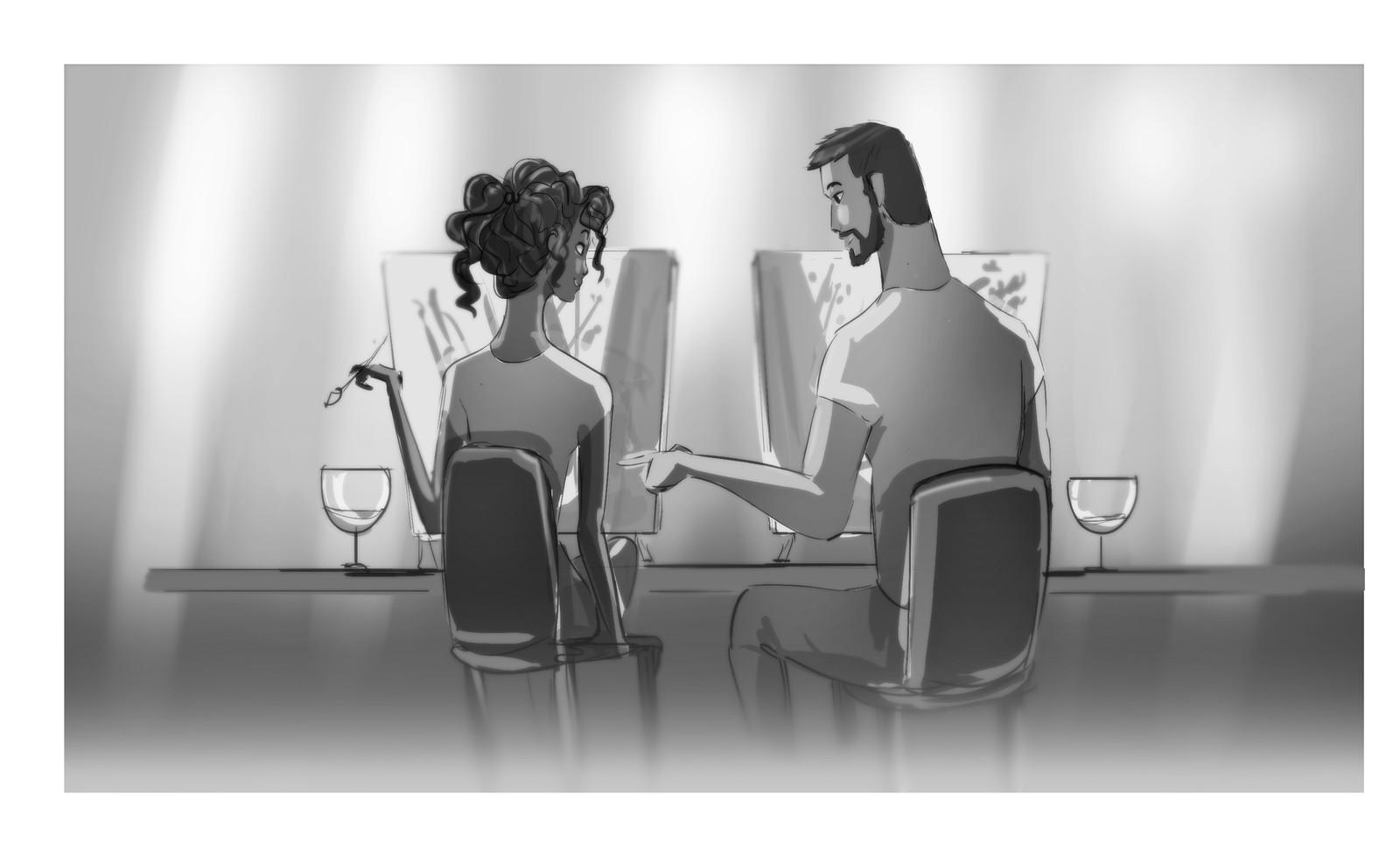 Storyboard Pinots Palette Animation