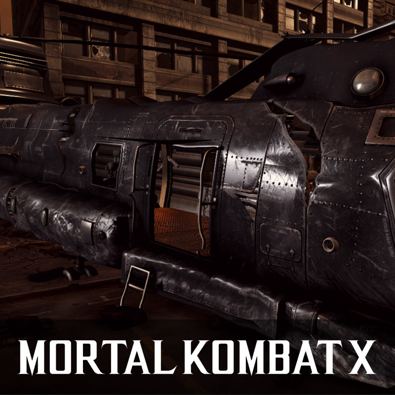 Mortal Kombat X - Assets (2015)