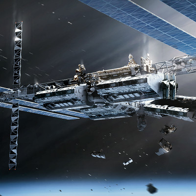 Feral Orbit - Station Exterior