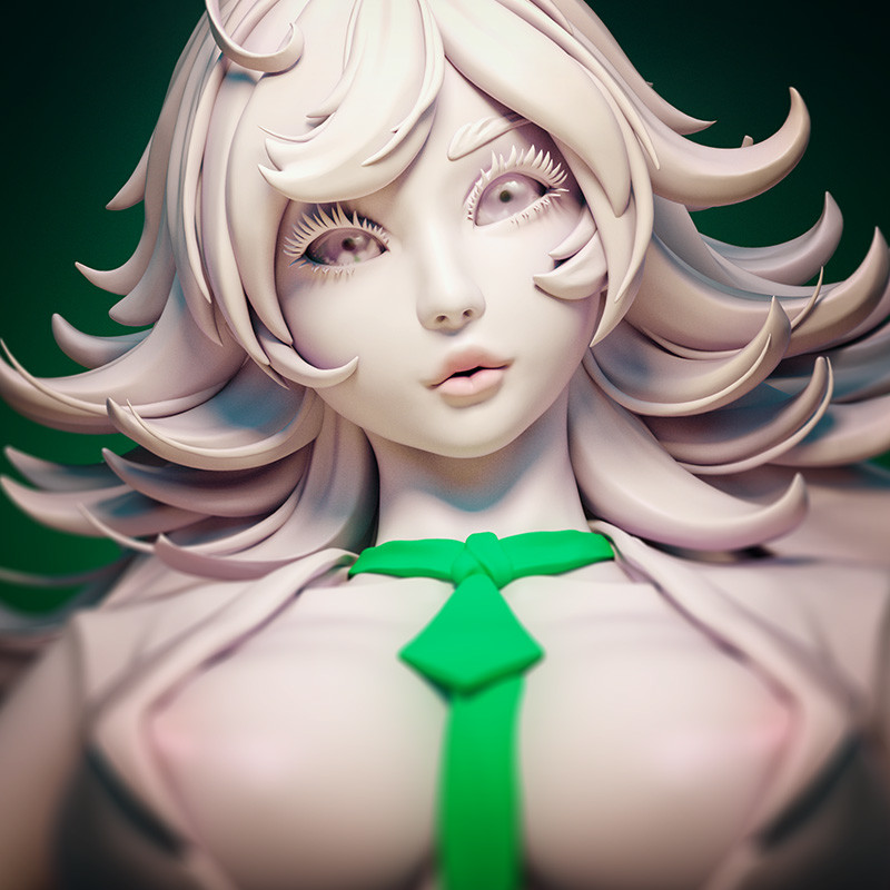 Bartania bust sculpt