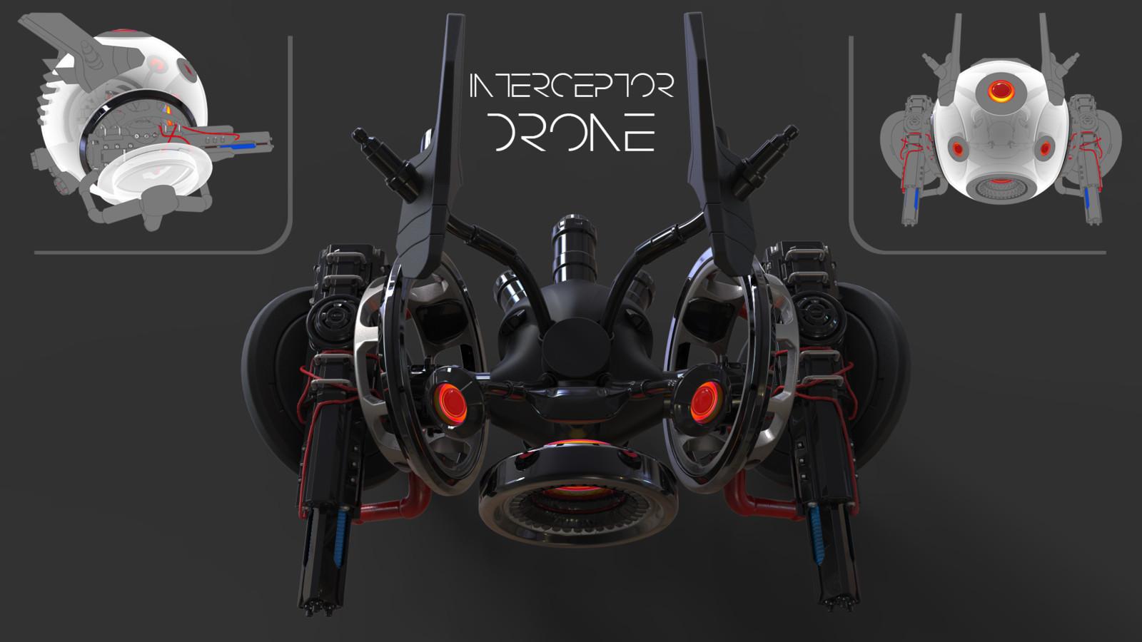 Interceptor Drone - P9000