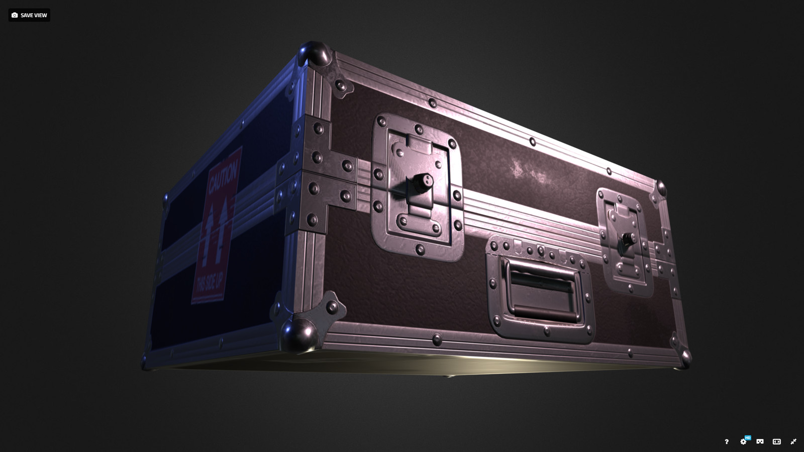 Flight case PBR
