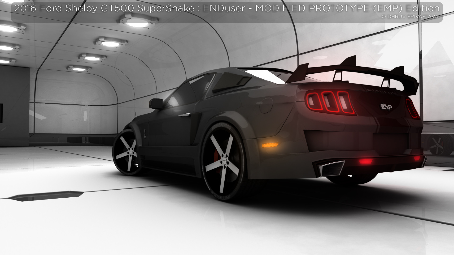 ArtStation 2016 Ford Shelby GT500 SuperSnake ENDuser MODIFIED