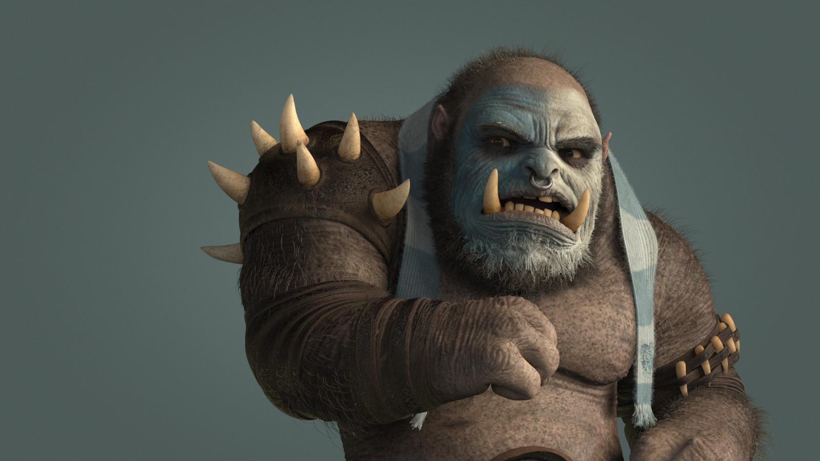 Sky Ogre - Look Development