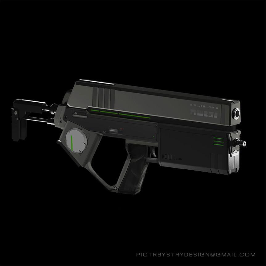 Cyberpunk gun