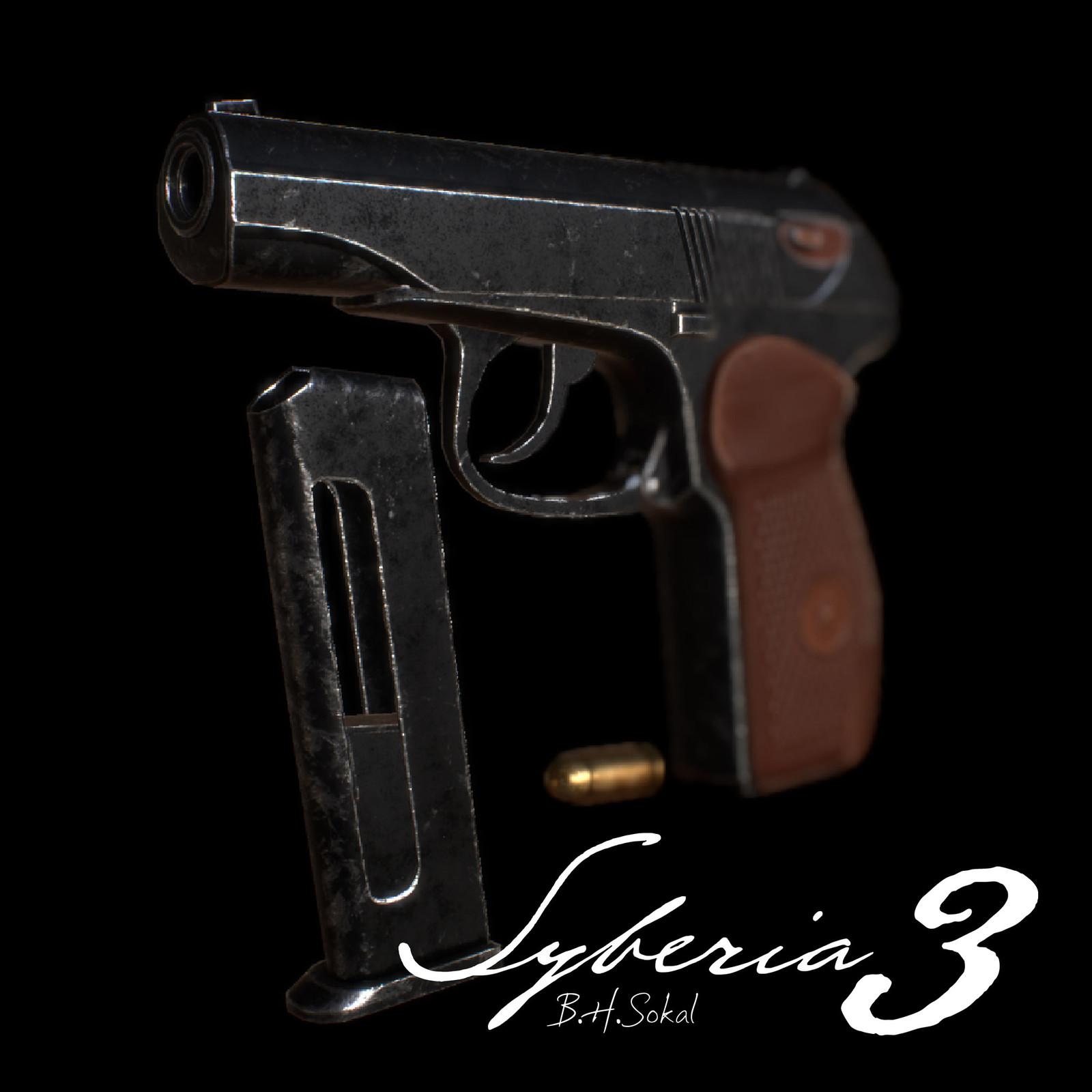Syberia 3: Gun Makarov