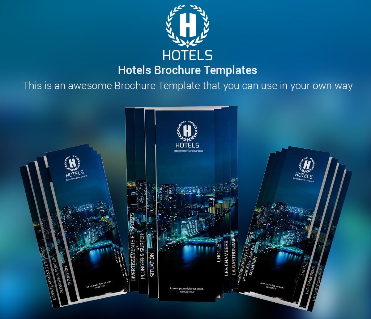 artstation hotels brochure template muhammed a abdo - Settlement Brochure Template