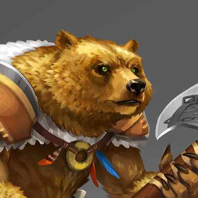 Dungeon Chess - Werebear