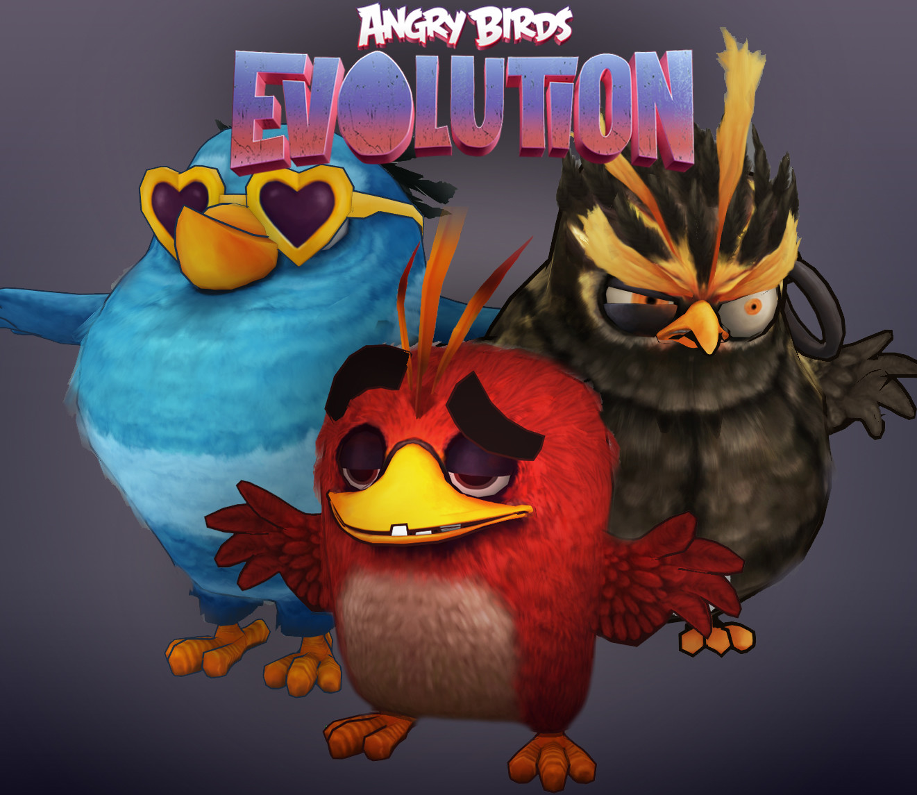 3D Models For Angry Birds Evolution, Tom