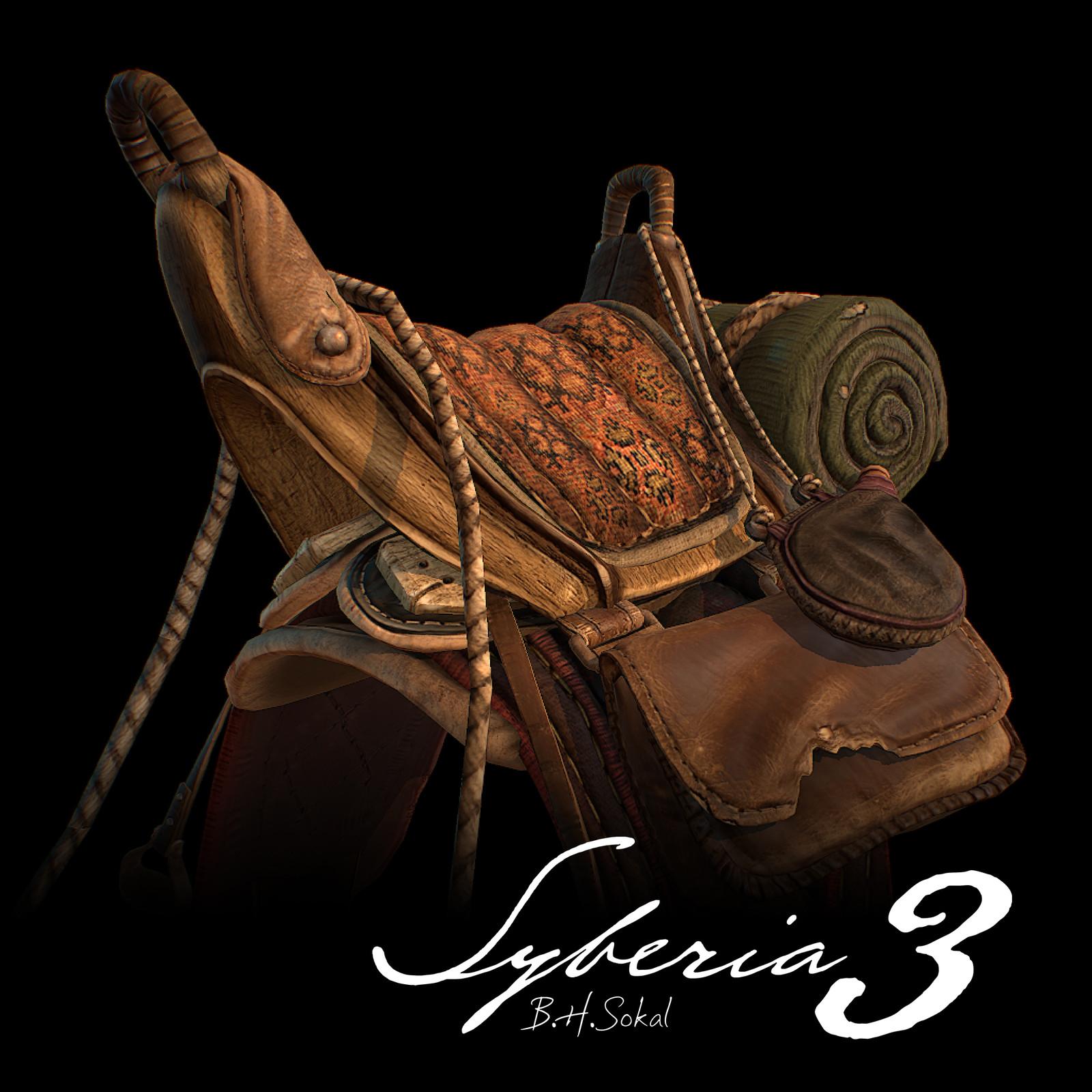 Syberia 3: Saddle