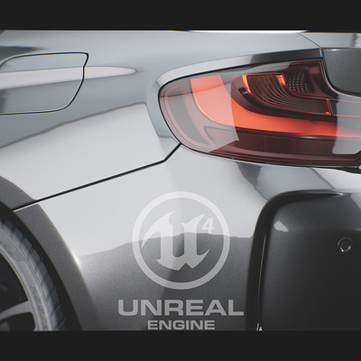 Unreal Engine - BMW M2 Configurator (Early Dev)
