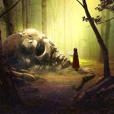 Philippe d amours photobash forest05