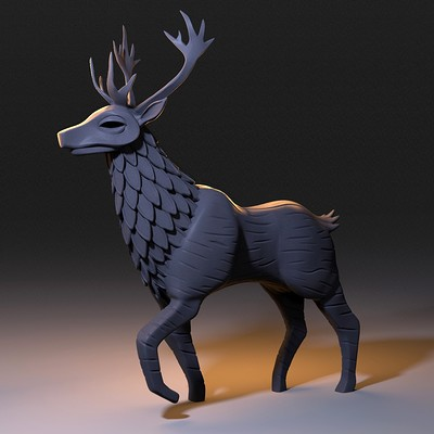 George crudo stag final render