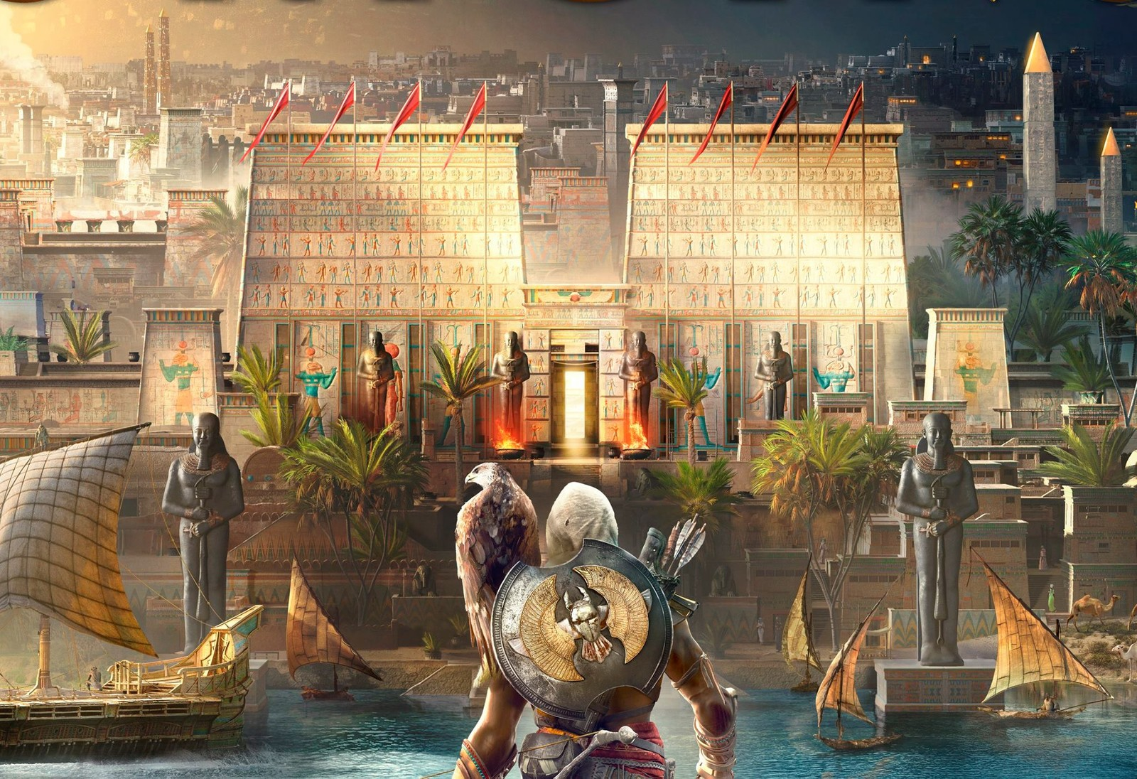 Assassin's Creed Origins Cover Keyart