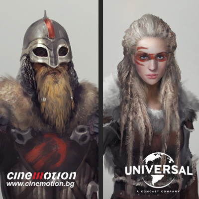 Vikings Concepts - Cinemotion & Universal