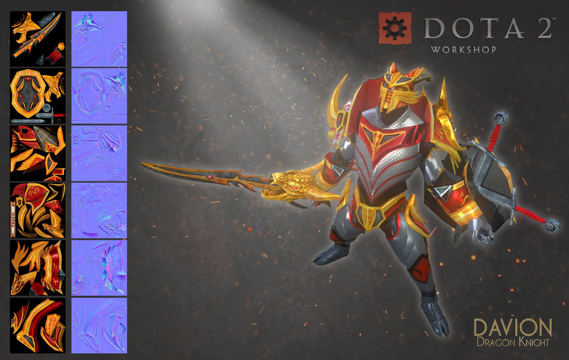 Artstation dragon knight dota 2 vincenzo dimino voltagebd Gallery