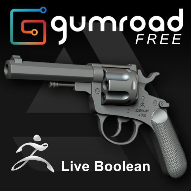 Live Boolean Revolver Model