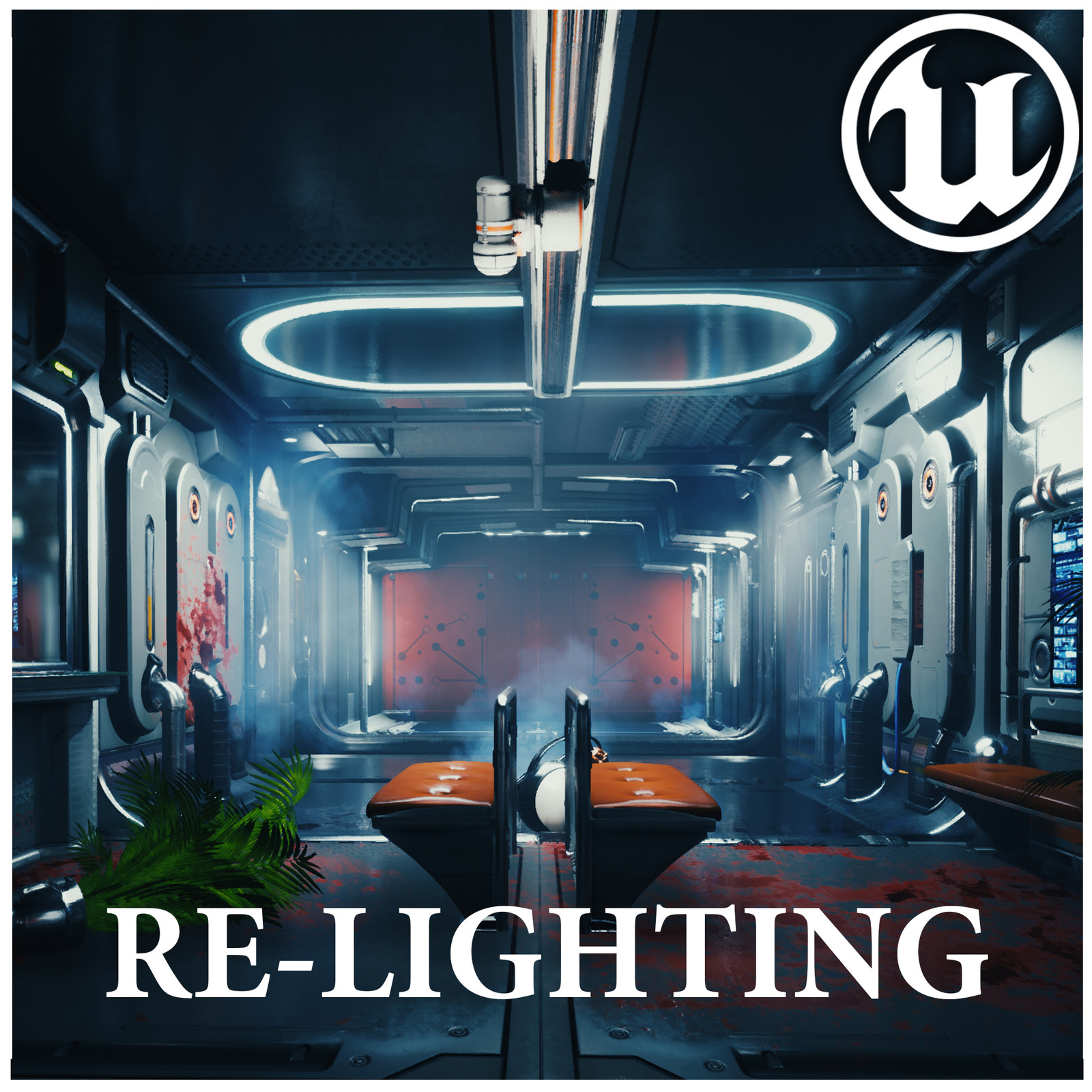 UE4 PREY Style Lighting | Wiktor Öhman's Deus Ex Corridor Relight