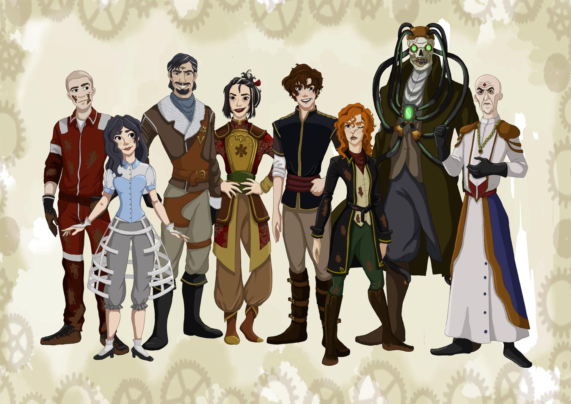 ArtStation Mortal Engine Characters Sarah Robinson