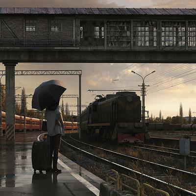 Andrew averkin train logo 02