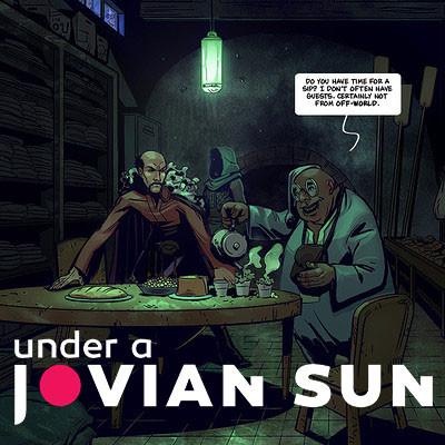 Under a Jovian Sun Pages