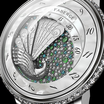 Winter peacock / Flying Tourbillon