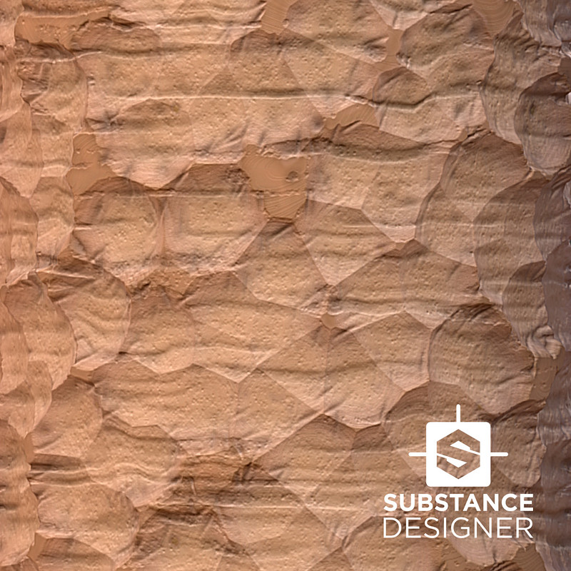 Chiseled Wood Texture