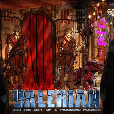 VALERIAN - IGON SIRUSS AND CREW