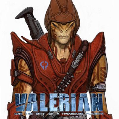 VALERIAN - IGON SIRUSS GUARDS