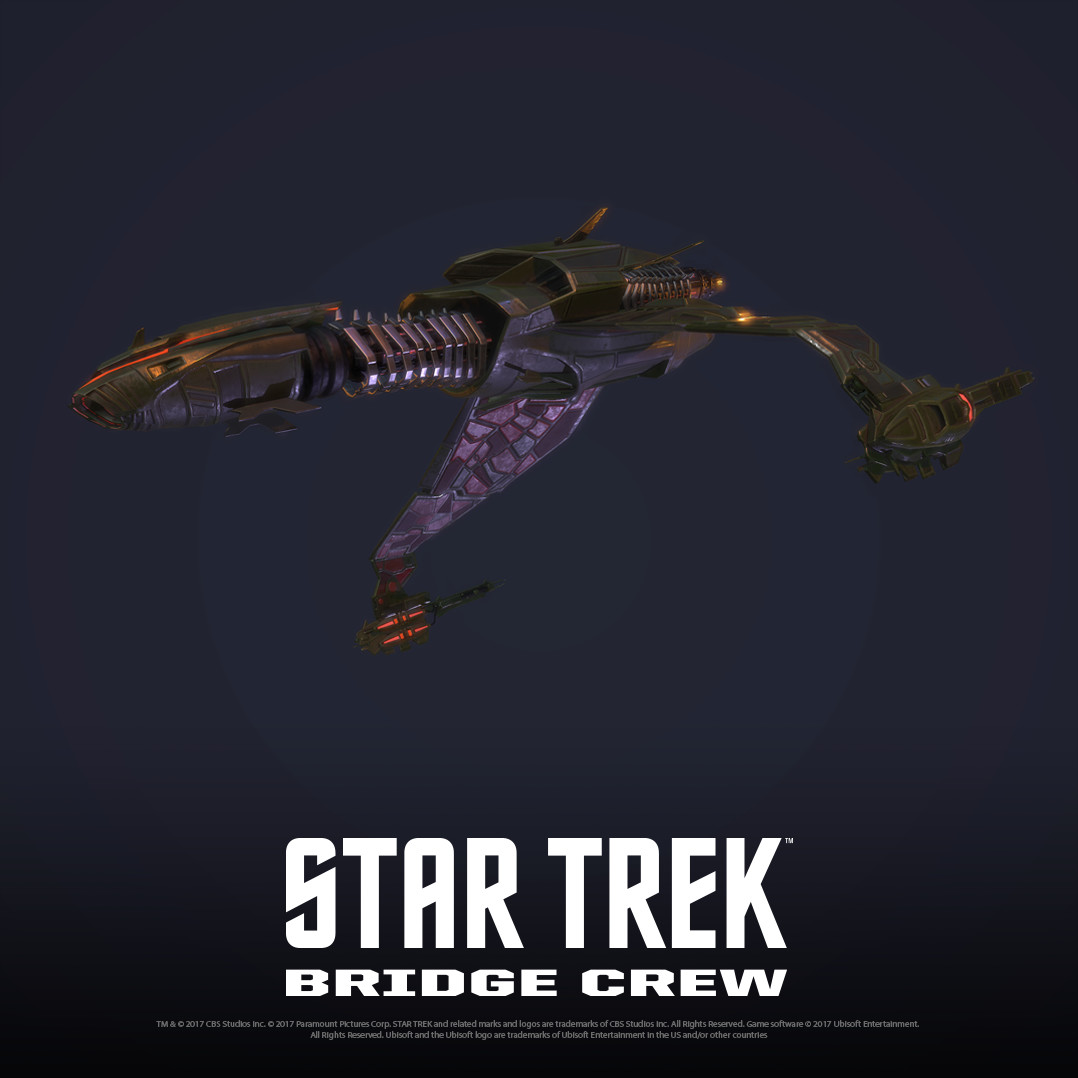 Artstation Star Trek Bridge Crew Klingon Bird Of Prey Cody Scott