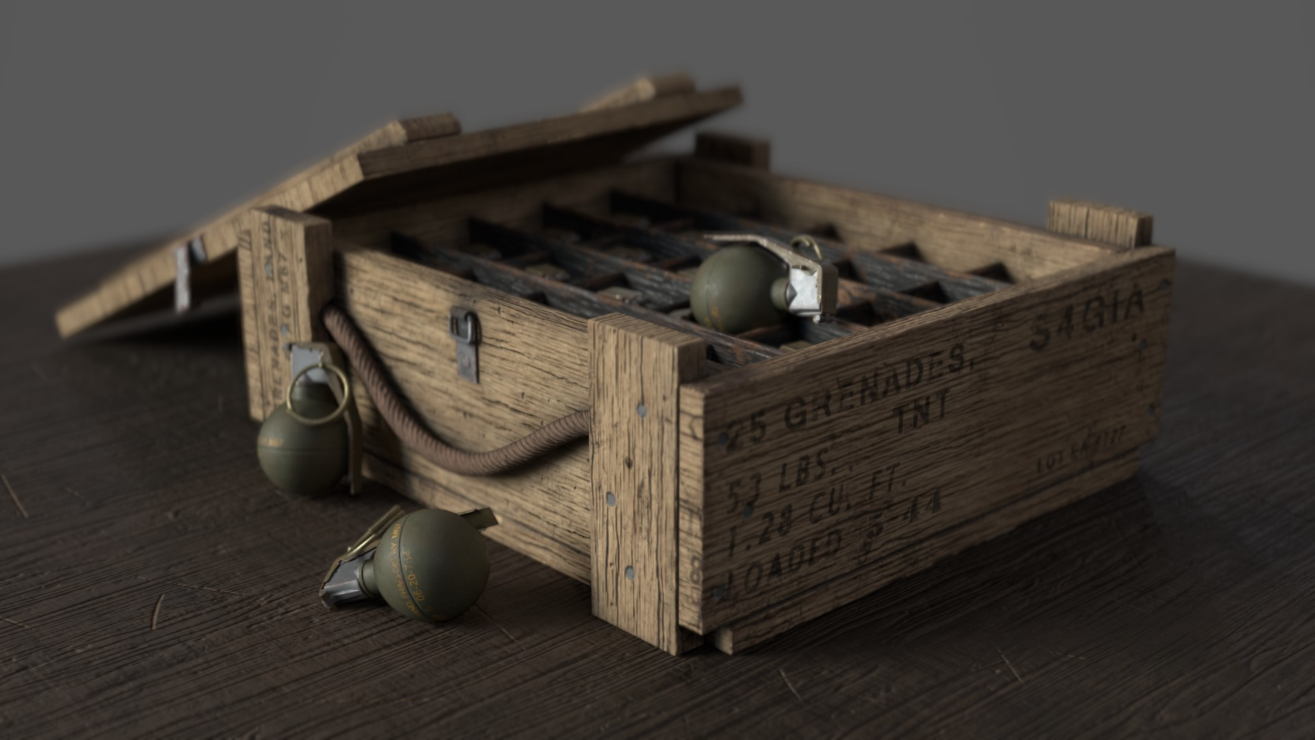 M67 Grenades Case: Uncharted: Drake's Fortune – Billy Knight