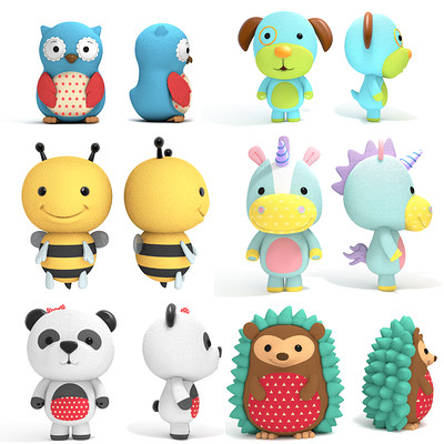 Animal Character design